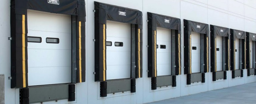 Loading Dock Area with Sectional Doors, Dock Seals, Dock Levelers NYC