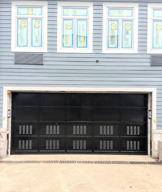 Parking Garage Overhead Door : Flood vents for parking garage doors