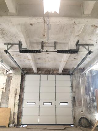 Finest doorman blog loading dock new jersey new york for Rear garage door
