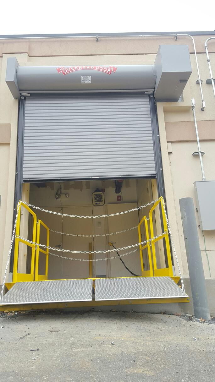 New Jersey Doors With Loading Dock Scissor Lift