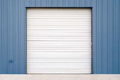 Non-Insulated Wind Load Sectional Door 421