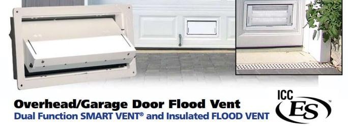 Garage Ventilation Options : Flood vents for parking garage doors