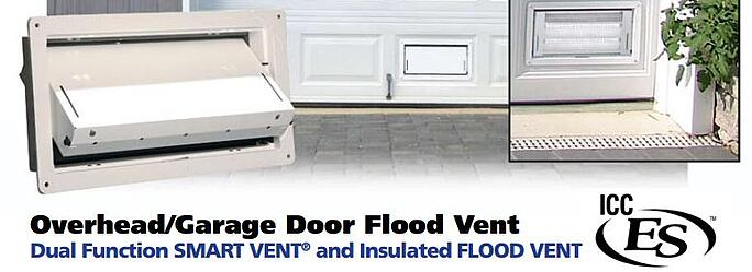 Flood Vents For Parking Garage Doors