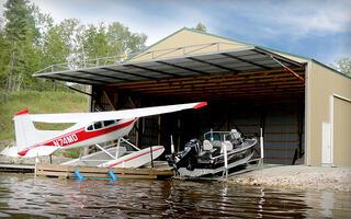 Aviation Hydraulic Door
