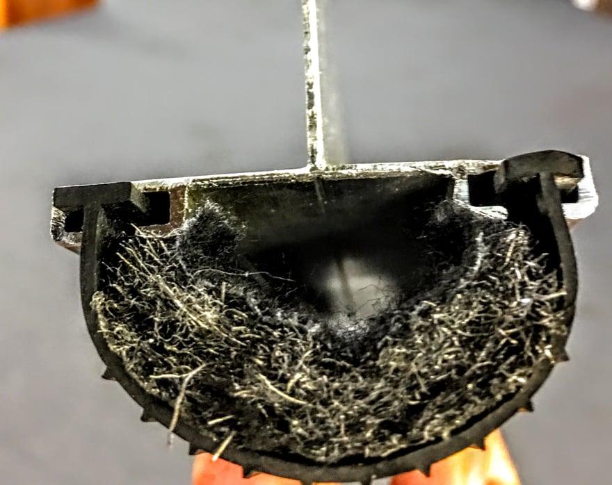 Rodent Block And Chew Proof Door Seal Repairs