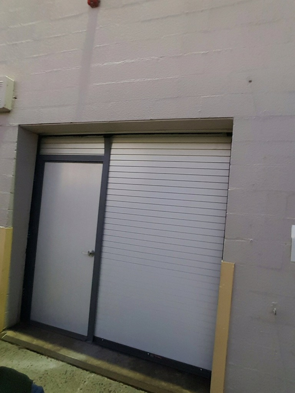 Overhead Sectional Door With Man Door : Finest doorman loading dock new jersey york
