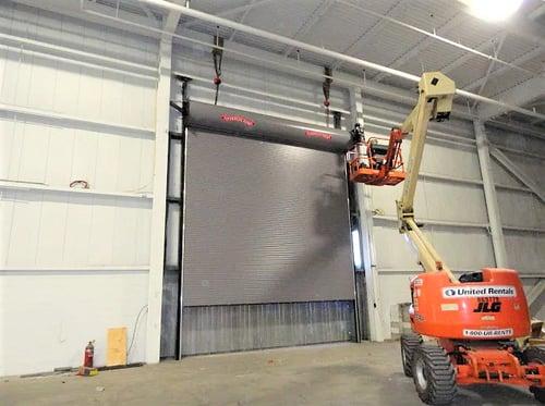 Rolling Steel Doors installation photo by Overhead Door Company of Central Jersey11