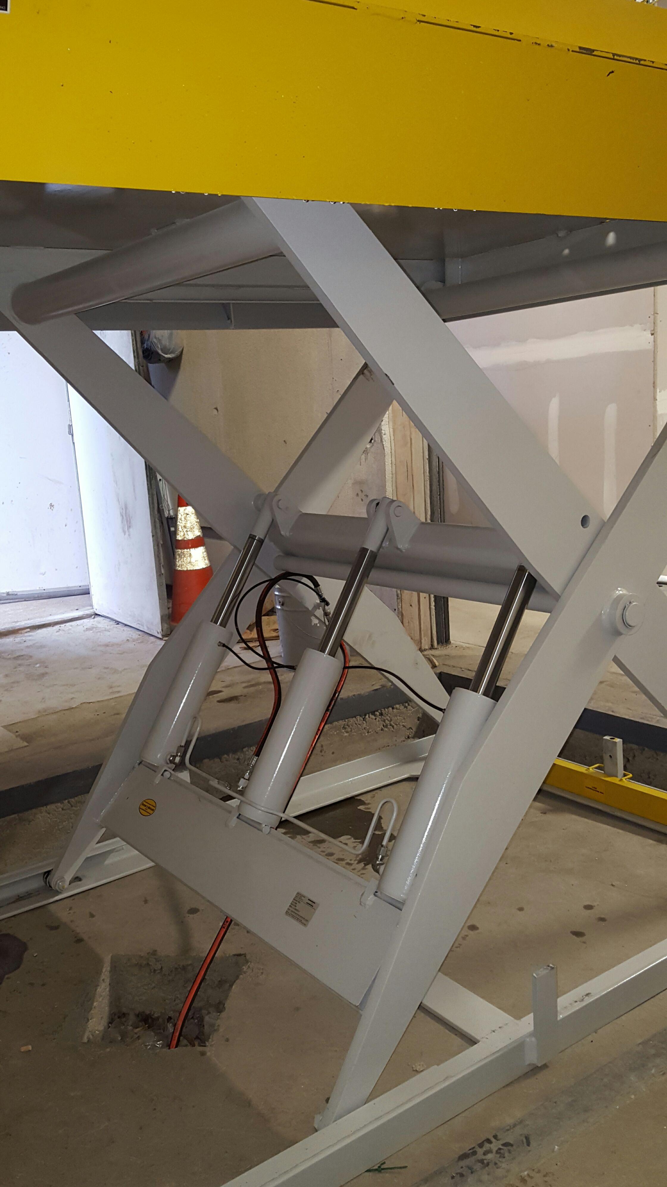 Scissor Dock Lift Legs Repair NJ NYC