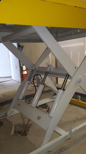 Scissor Dock Lift Legs Repair NJ NYC