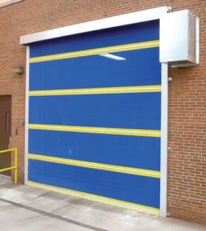 Sectional Door with Bug Screens