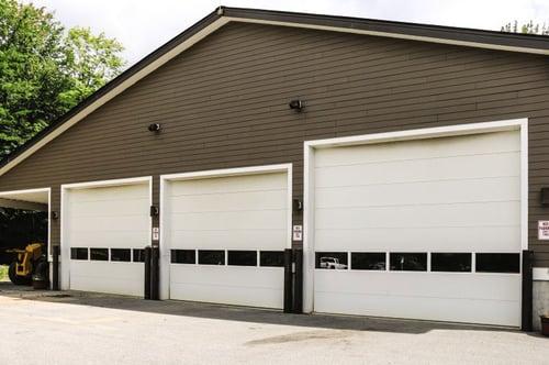 Sectional Steel Door 416 Wide