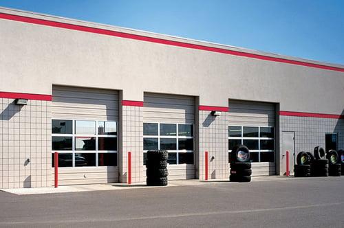 Sectional Steel Door 424 Wide