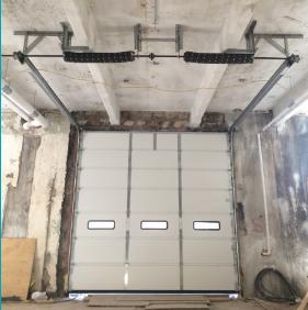 Sectional Steel Door with Low Headroom