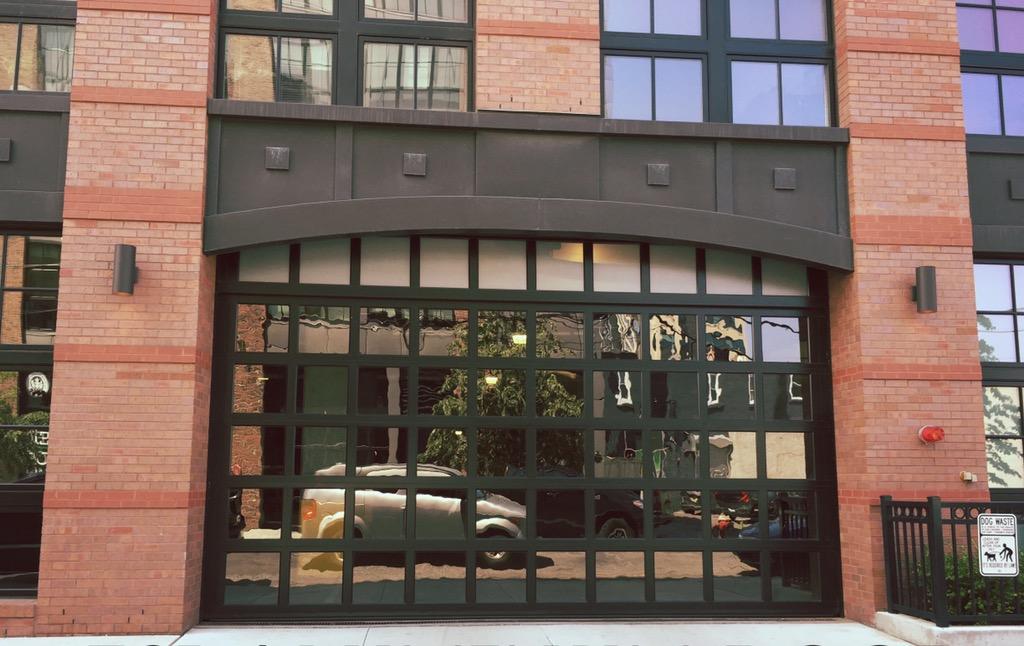 Sectional Aluminum Overhead Doors, Glass Garage Doors, Window Overhead Doors, Full Vision Garage Doors, Curtain Wall Overhead Doors