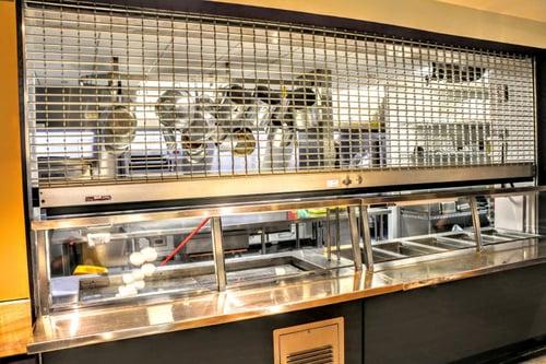 cafeteria-kitchen-grille-rolldown-gate