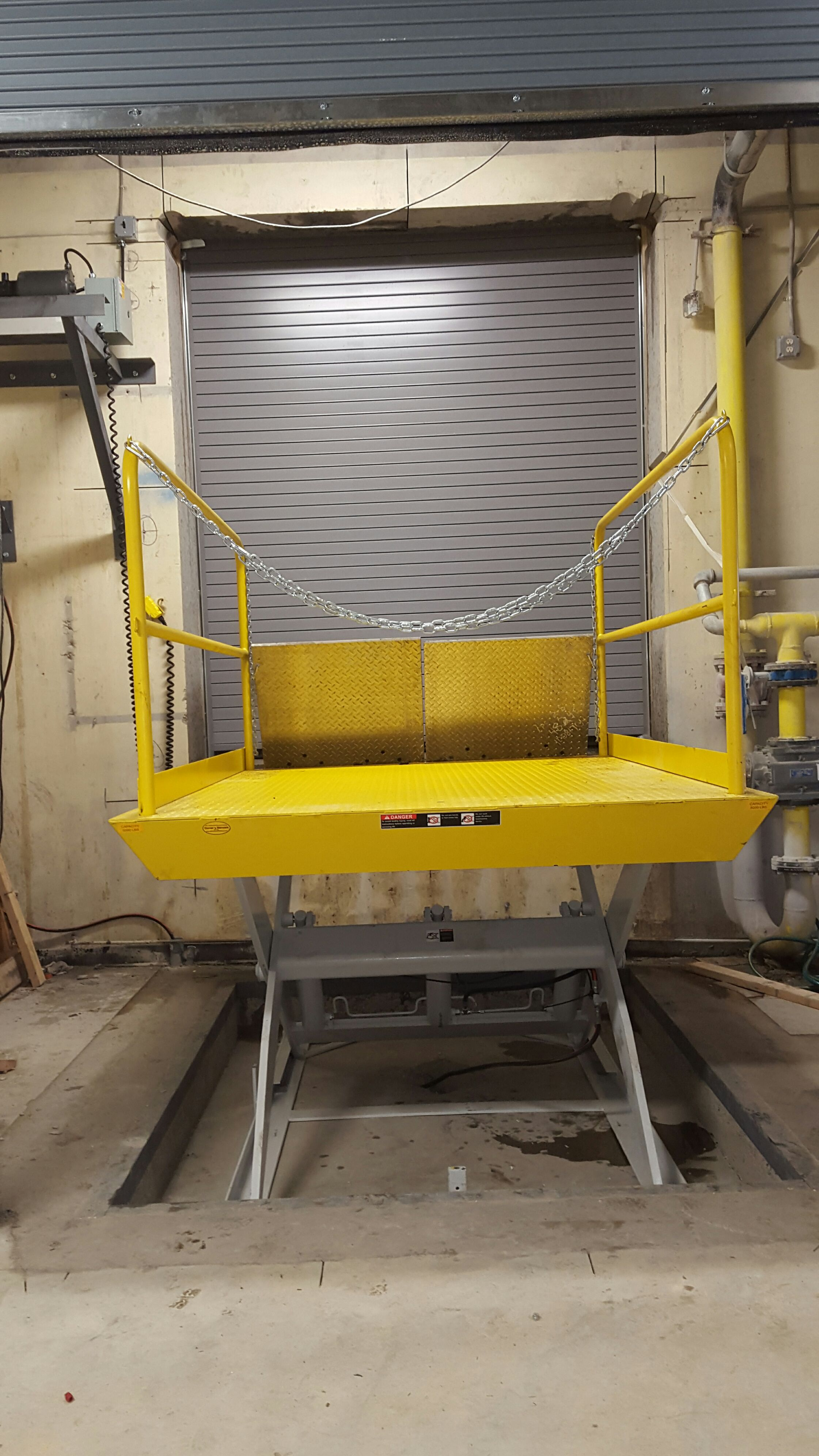 dock lift repair installation company nj nyc