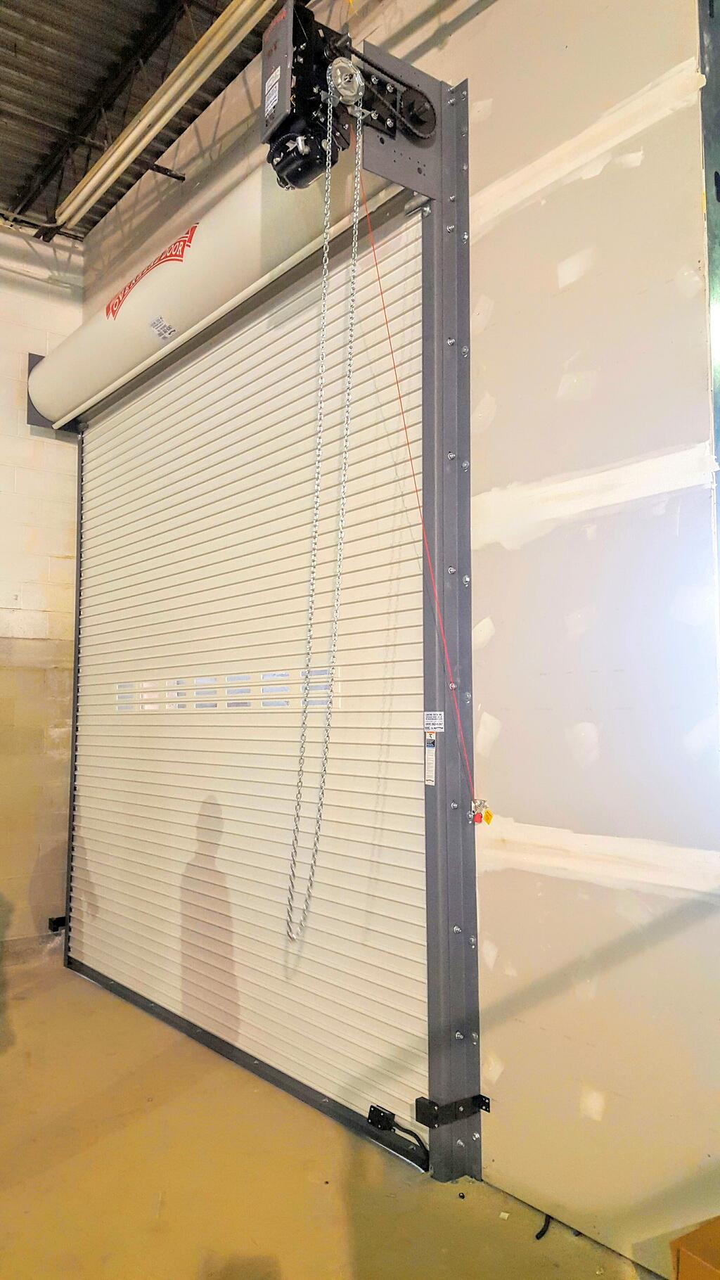 1820 #957236 Electric Motorized Automated Roller Gate System In New Jersey & New  save image Steel Overhead Doors 38071024