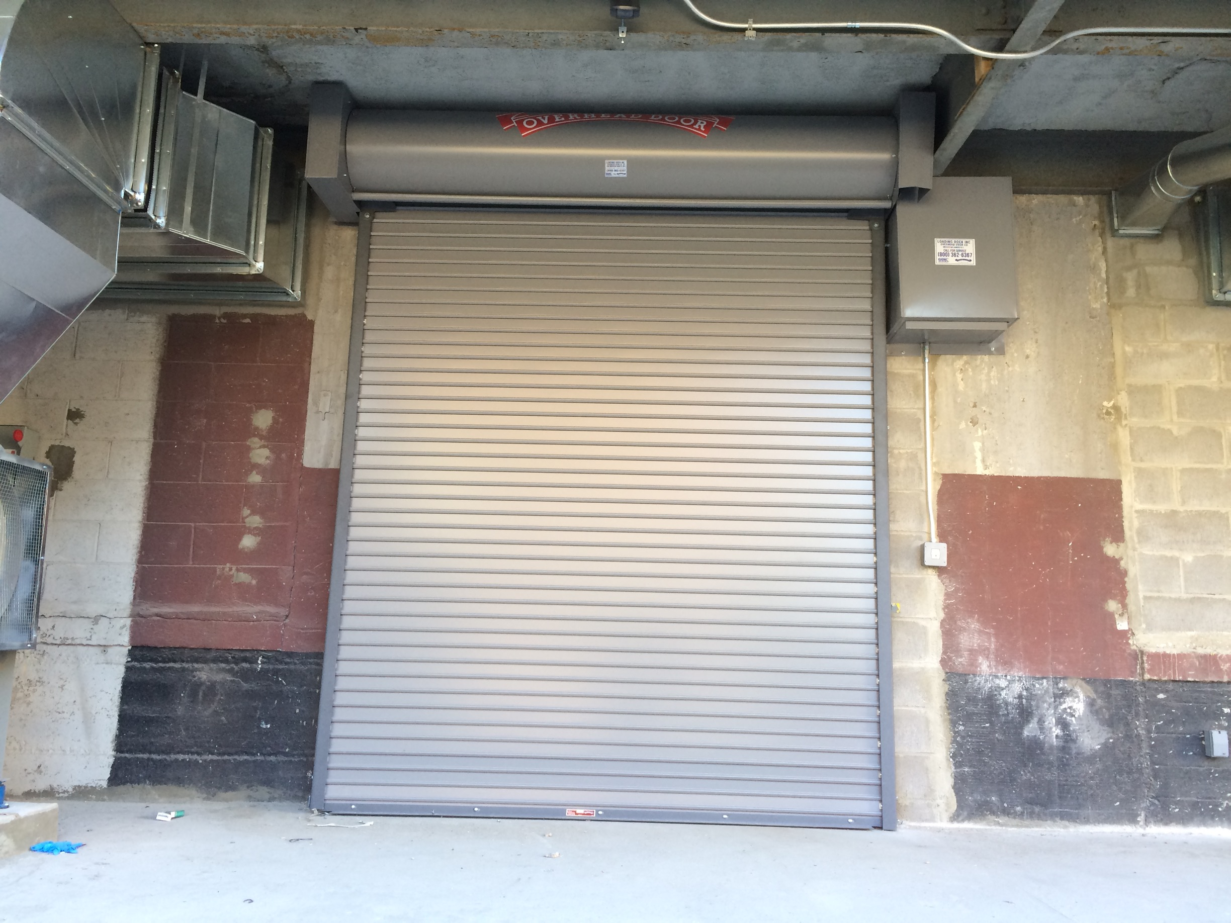 Beautiful Exterior Fire Rated Roll Down Door Gate Nyc