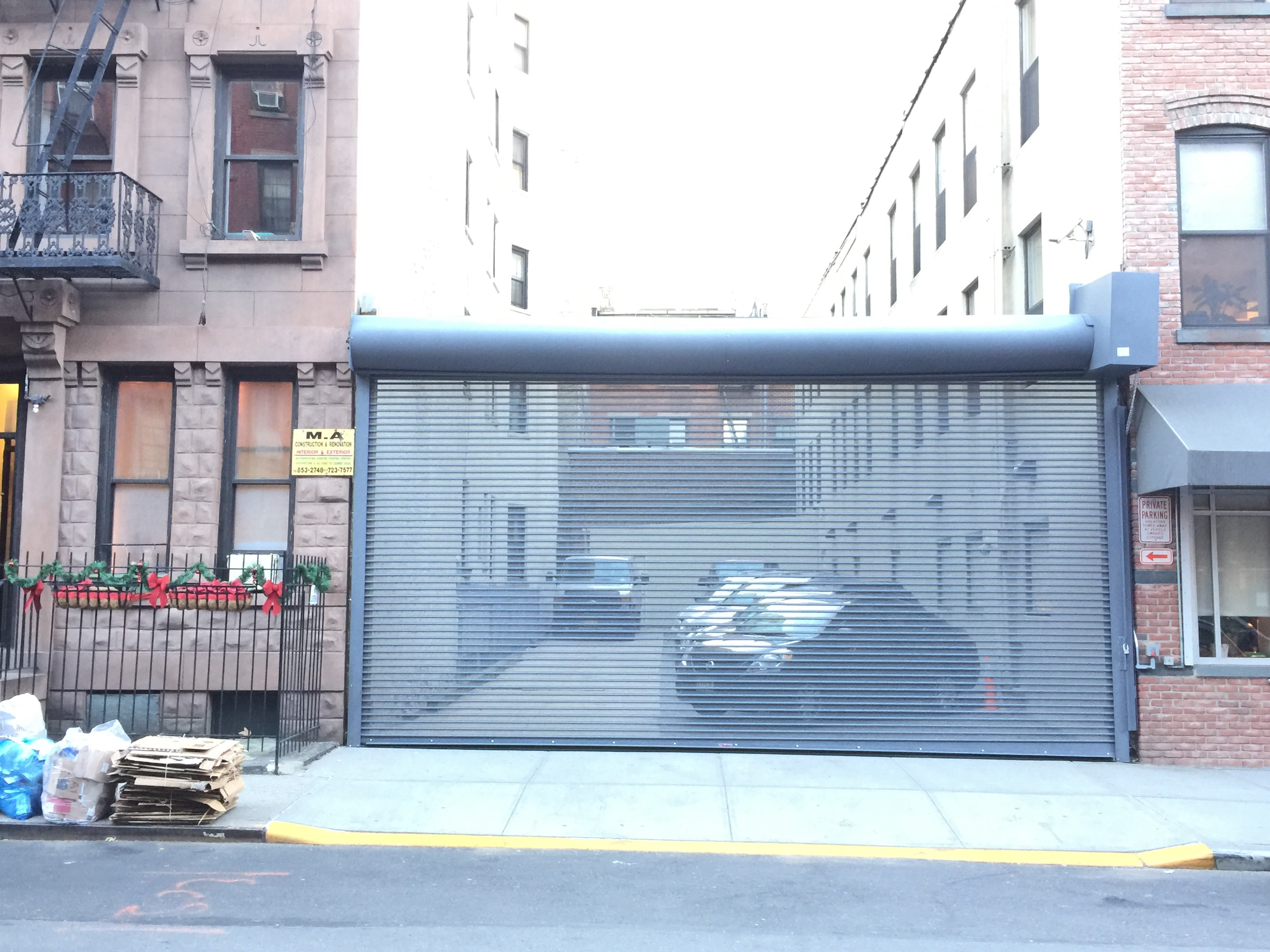 Exterior Rolling Open Grille Amp Hole Gates In New York