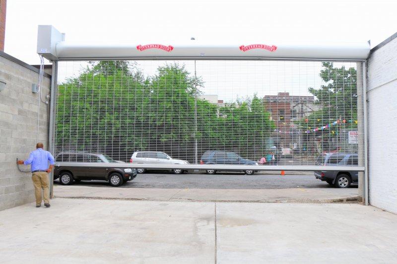 Exterior Parking Lot Rolldown Gate Rollup Door