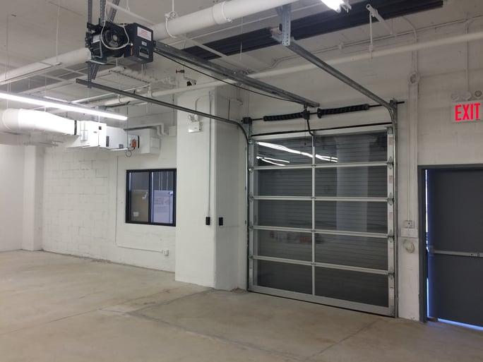 Rolling Steel Door And Sectional Door Combo System