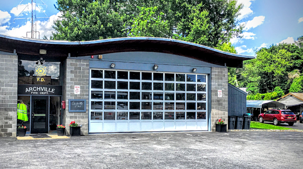 Sectional Commercial Aluminum Garage Overhead Doors for Firehouses, Fire Station