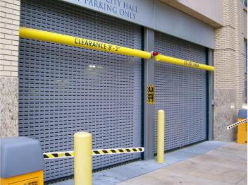 Parking Garage Door