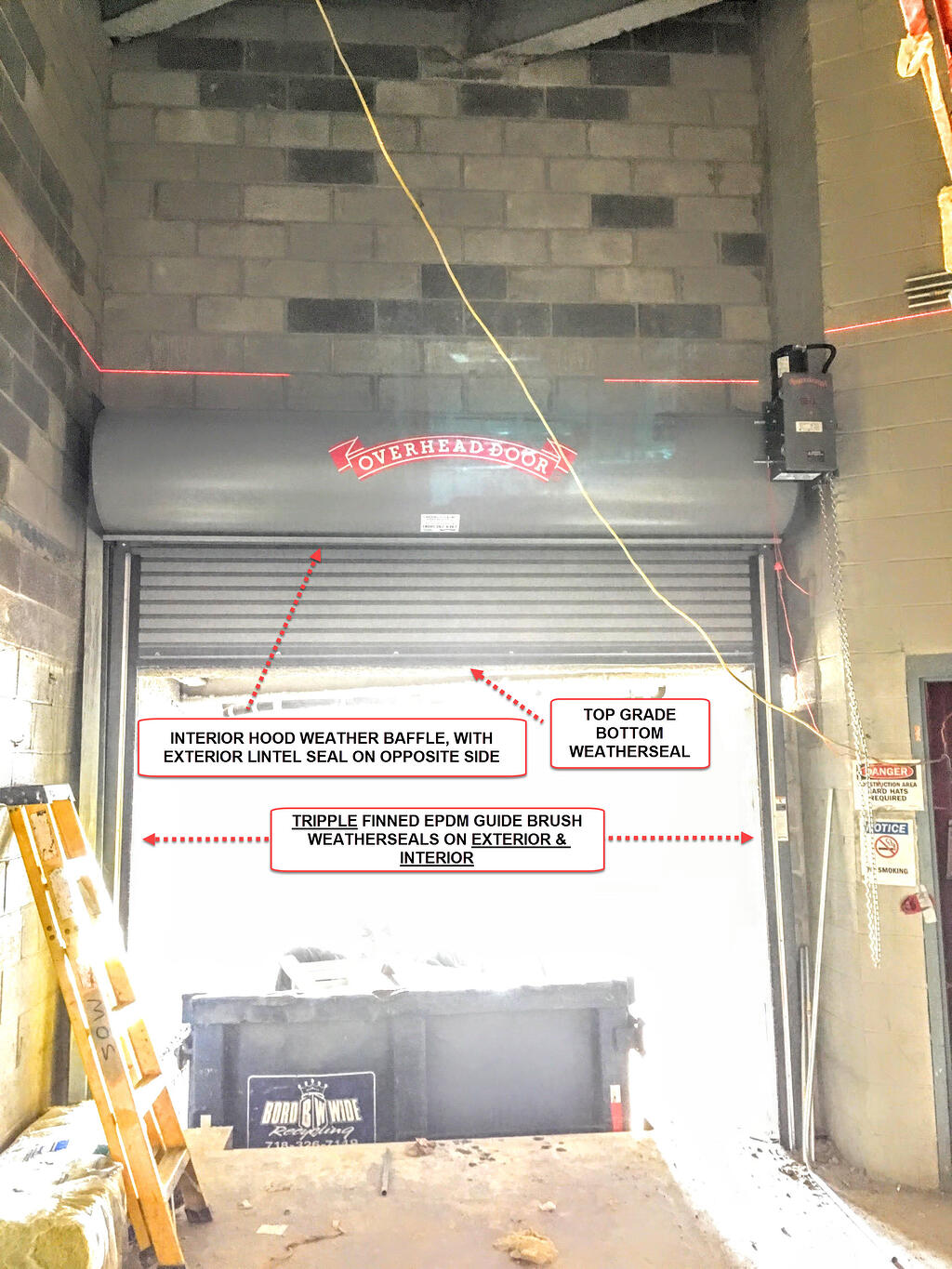 Roll up doors interior - 6790 Insulated Metal Slat Rollup Gate Loading Dock Door Jpg Picture Of Insulated Steel Roll