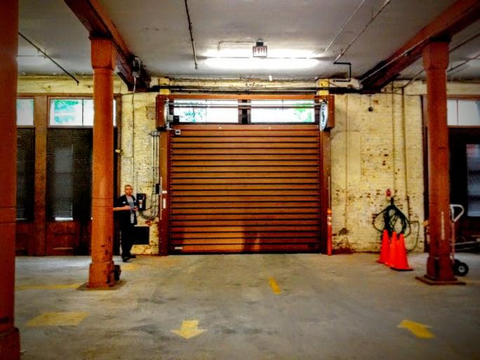 Parking Garage Overhead Door : Finest doorman loading dock new jersey york