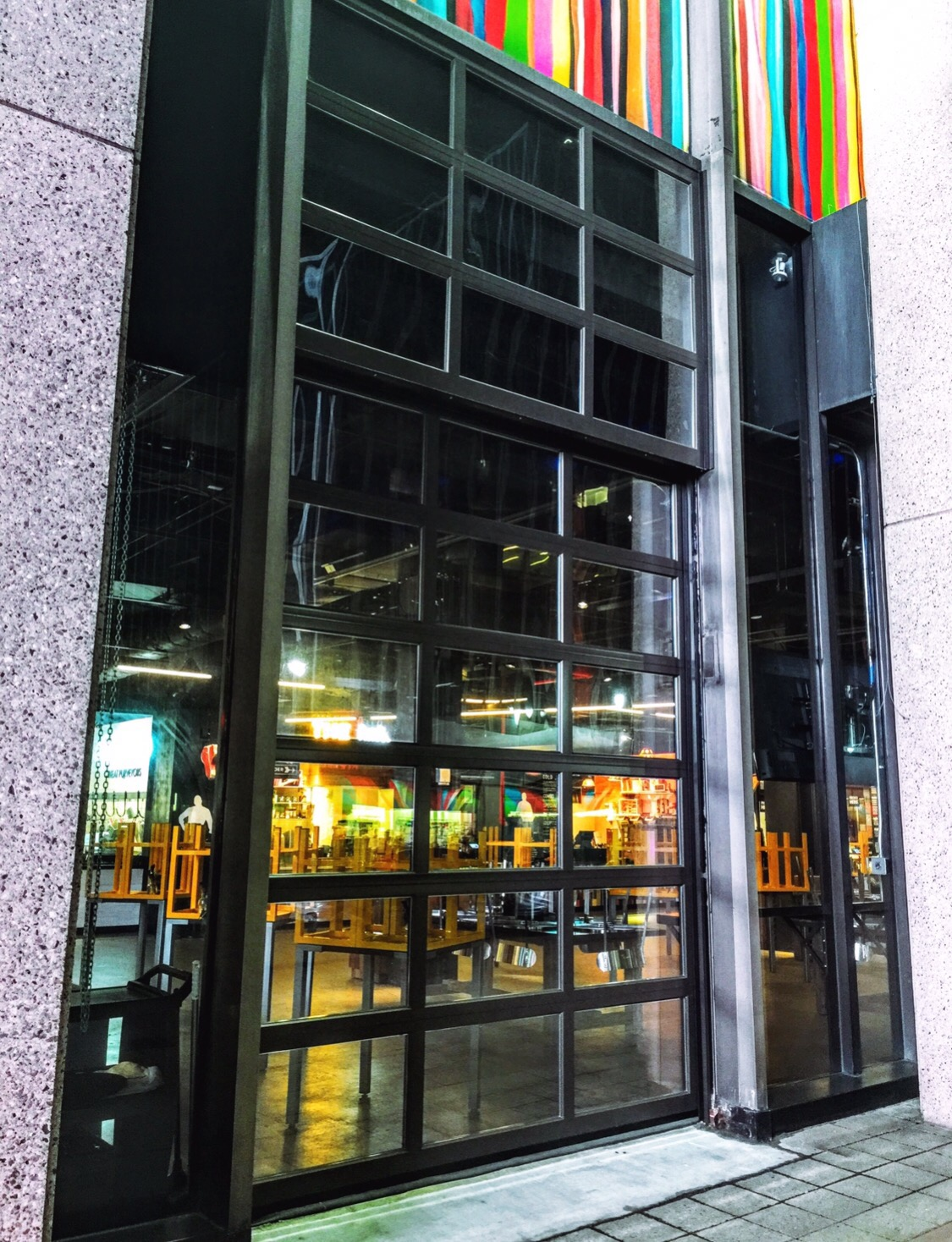 metal-glass-rollup-gate-door-aluminum-nyc-nj- & Finest Doorman Blog | Loading Dock New Jersey - New York | swing up ...