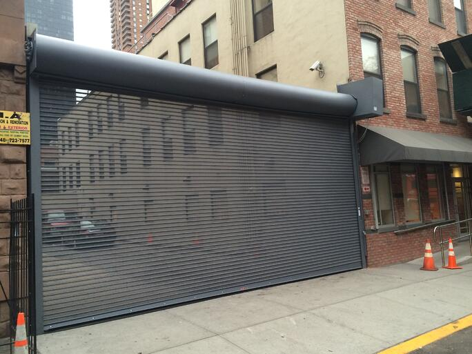 Motorized Metal Roll Up Shutters And Rapid Overhead Roll
