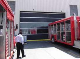 Hormann Flexon Roll-Up Doors, Speed-Master® 4600 Interior or Exterior Extra Large Door Openings