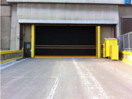 Hormann Flexon Roll-Up Doors Rubber Doors Interior or Exterior Extra Large Door Openings & Finest Doorman Blog | Loading Dock New Jersey - New York | Roll up Doors