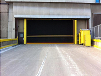 Hormann Flexon Roll-Up Doors, Rubber Doors Interior or Exterior Extra Large Door Openings