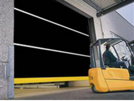 Roll up doors, Speed Commander TM 1200 Screen Master for Loading Docks