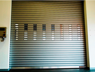 Hormann Roll-Up Doors, Steel Ranger 9000 L High performance rolling steel door. Interior or Exterior Secure