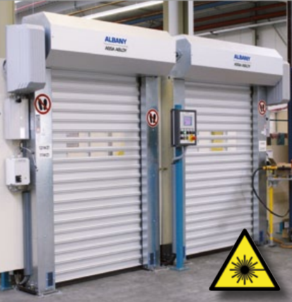 Albany Doors Assa Abloy High Speed Line, Doors for process applications, Albany RP2000