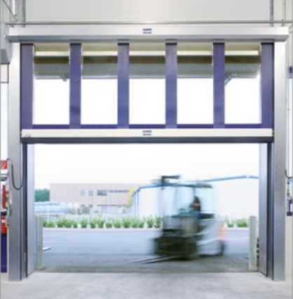 Albany Doors Assa Abloy High Speed Line, Doors with Flexible Curtains, Albany RR392