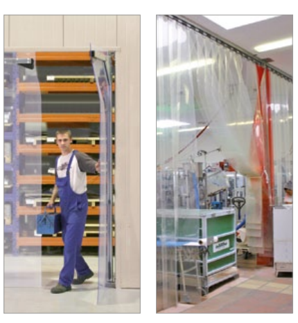 Albany Doors Assa Abloy High Speed Line, Doors for process applications, Albany RapidNorm and Albany RapidStorm