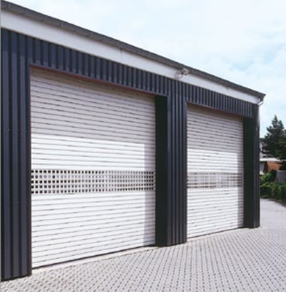 Albany Doors Assa Abloy High Speed Line, Doors for process applications, Albany RapidRoll F