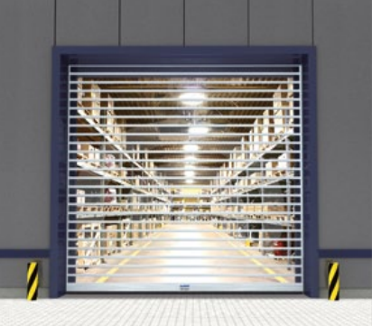 Albany Doors Assa Abloy High Speed Line, Doors with curtains, Albany RR3000 Vision