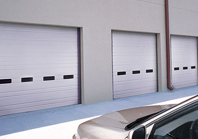 Clopay Sectional Overhead Doors, Industrial Series Ribbed Steel Doors