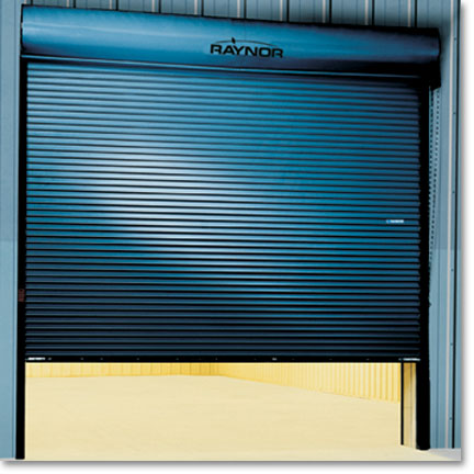 Raynor Commercial Sectional Garage Doors, Dura Coil Optima
