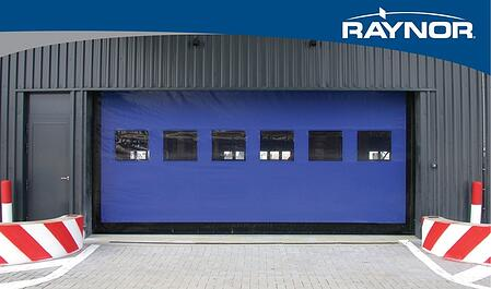 Raynor Commercial High Performance Doors,  Rapid Coil RC 300HD
