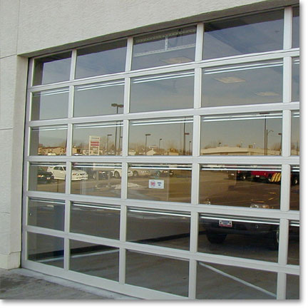 Raynor Commercial Sectional Garage Doors, Aluma View AV200