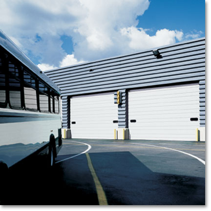Raynor Commercial Sectional Garage Doors, Steelform S-20 S-24