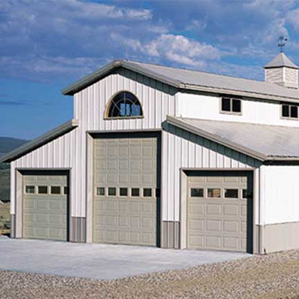 Raynor Commercial Sectional Garage Doors, DesignForm Standard