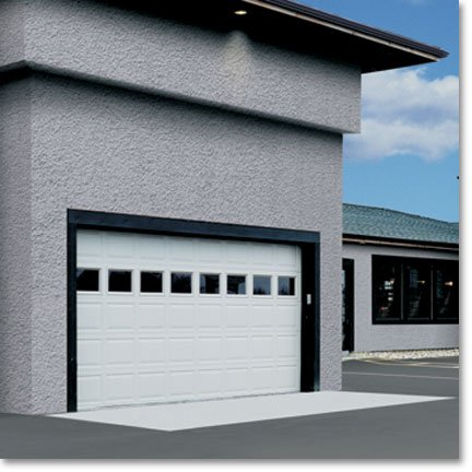 Raynor Commercial Sectional Garage Doors, Style Form Optima
