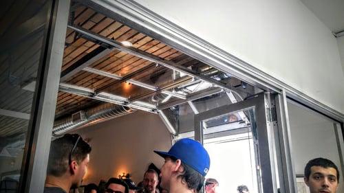 Roll-Up Glass Roller Door NJ