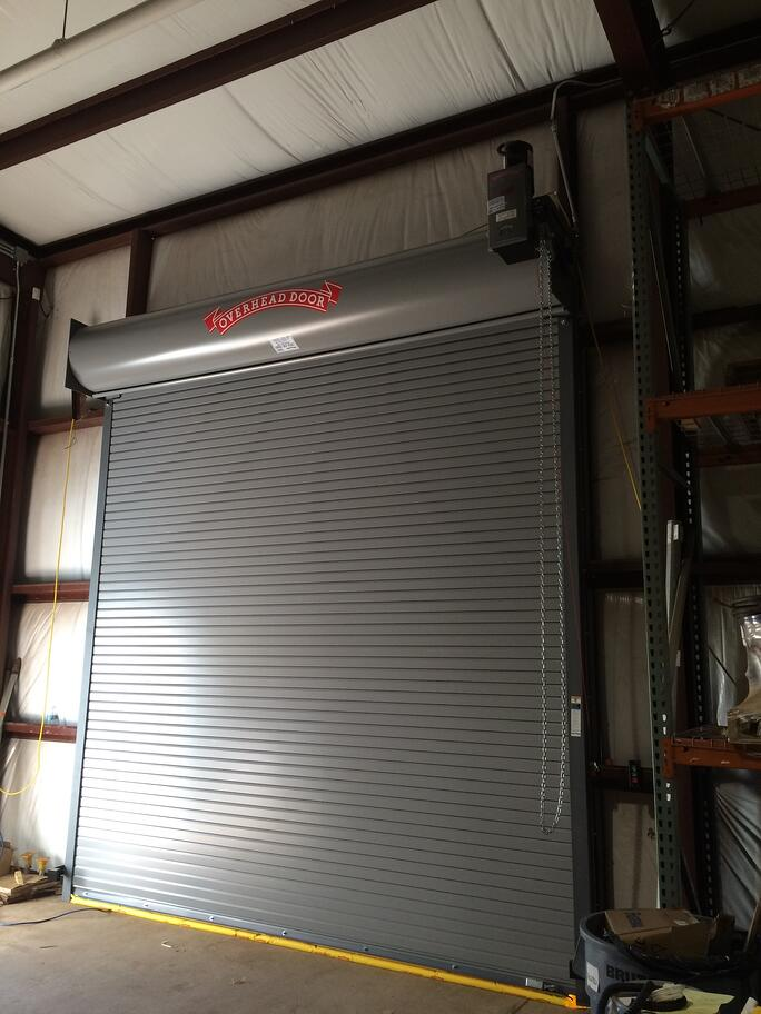 metal rolling loading dock doors fix slats nj nyc